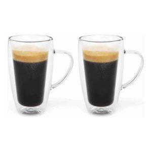 Dvoustěnný hrnek na kávu/čaj 320ml 2 ks - Bredemeijer