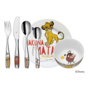 Dětský jídelní set Lví král ©Disney 6ks - WMF