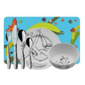 Dětský jídelní set Lenochod 7ks - WMF