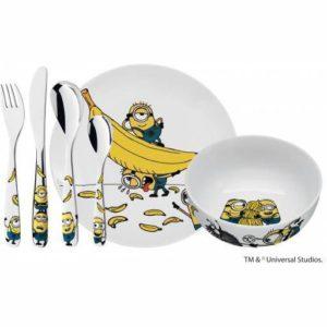 Dětský jídelní set Mimoni 6ks - WMF