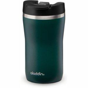 Termohrnek Café 250ml Thermavac Leak-Lock™ tmavě zelená Barista - Aladdin