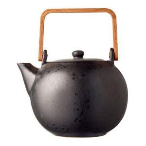 Konvička na čaj 1,2l černá - BITZ