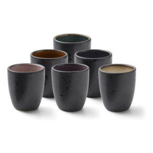 Sada hrnků na espresso 6 druhů 100 ml - BITZ