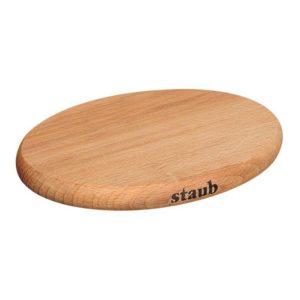 Dřevěná podložka pod hrnce s magnetickým jádrem 29 x 20 cm - Staub
