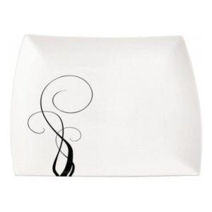 Čtvercový podnos 30 x 30 cm, WHITE BASICS BREEZE - Maxwell&Williams