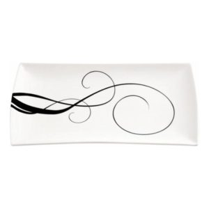 Obdélníkový talíř 30 x 17 cm, WHITE BASICS BREEZE - Maxwell&Williams