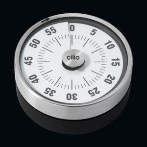 Kuchyňská minutka PURE nerezová 8 cm - Cilio