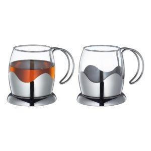 Sada šálků na čaj 2ks 200ml EARL GREY - Küchenprofi