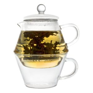 Čajová konvice pro jednoho 400ml/250ml, Portofino - Bredemeijer