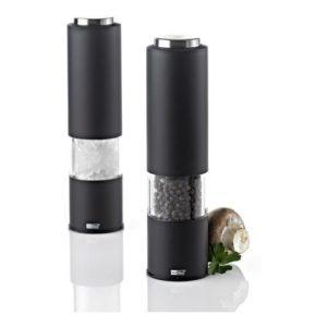 Elektrický mlýnek na pepř/sůl, černý, TROPICA - AdHoc