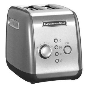 Toaster 2-plátkový stříbrná - KitchenAid