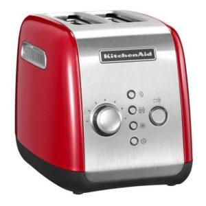 Toaster 2-plátkový královská červená - KitchenAid