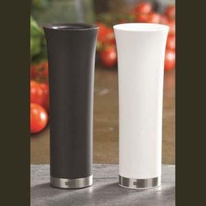 Sada Gravitační mlýnek na pepř a sůl bílý a černý - AdHoc