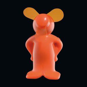 Mini Ventilator Vento-Boy oranžový - Cilio