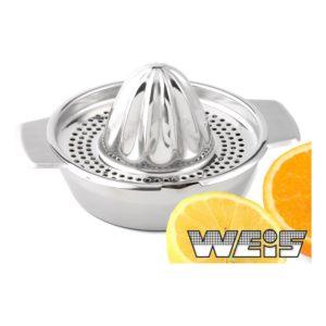 Ruční lis na citrony nerezový - Weis