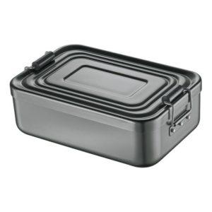 Svačinový box alu antracitový 7x15x23 cm - Küchenprofi