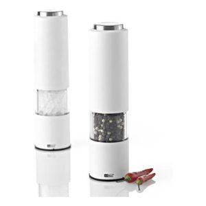 Elektrický mlýnek na pepř/sůl, bílý, TROPICA - AdHoc